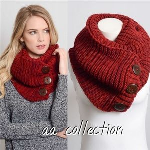Chunky Knit Scarf Shoulder neck wrap